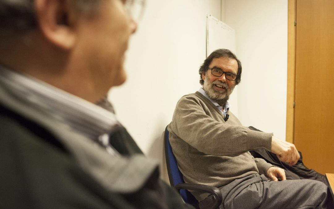 FOTO – L'incontro con Andrea Morini