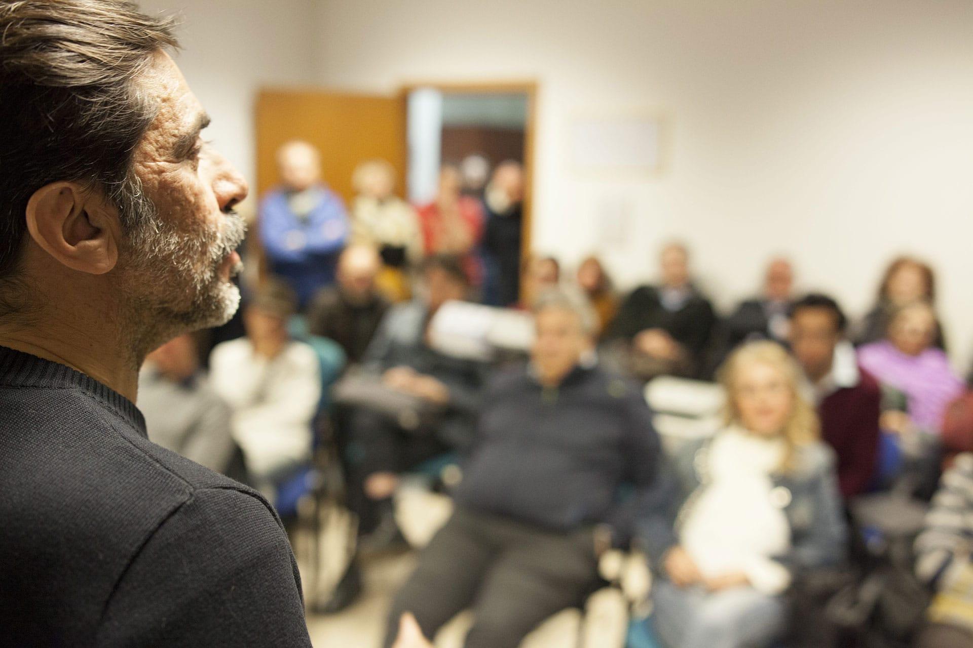 FOTO – L'incontro con Sergio Vespertino