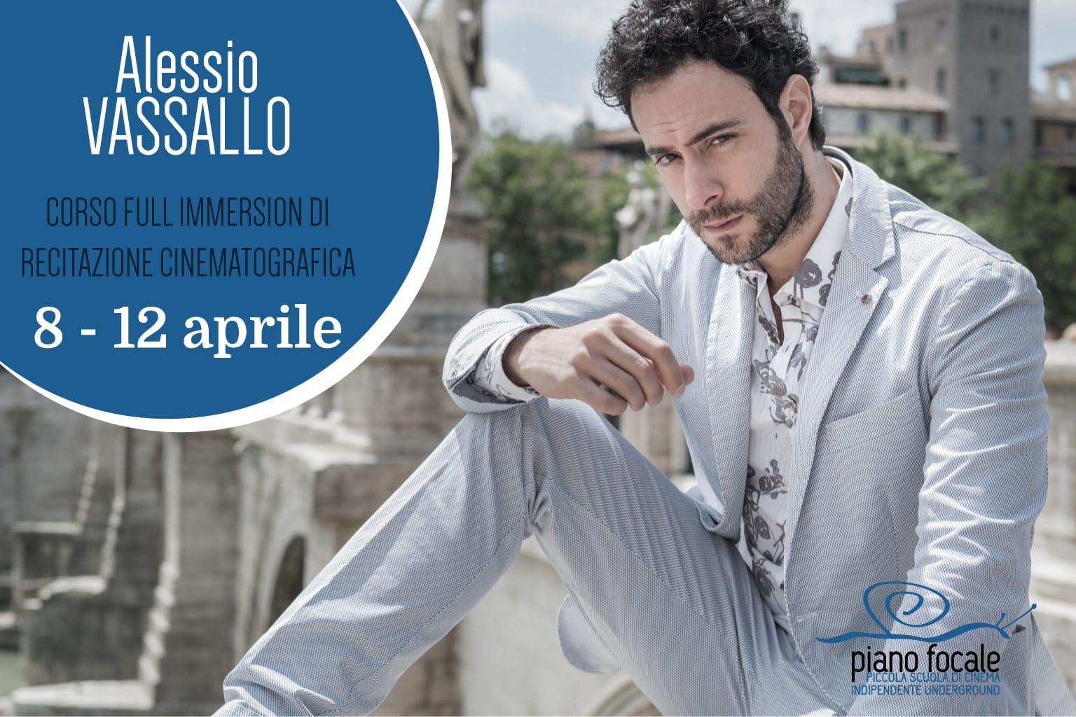 Corso di recitazione di Alessio Vassallo