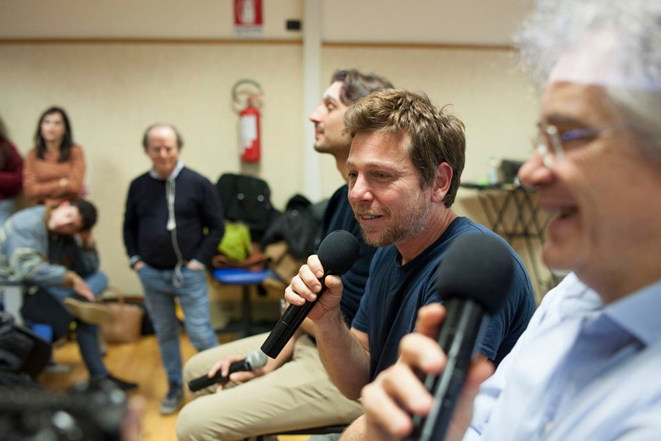 FOTO – L'incontro con Claudio Gioè