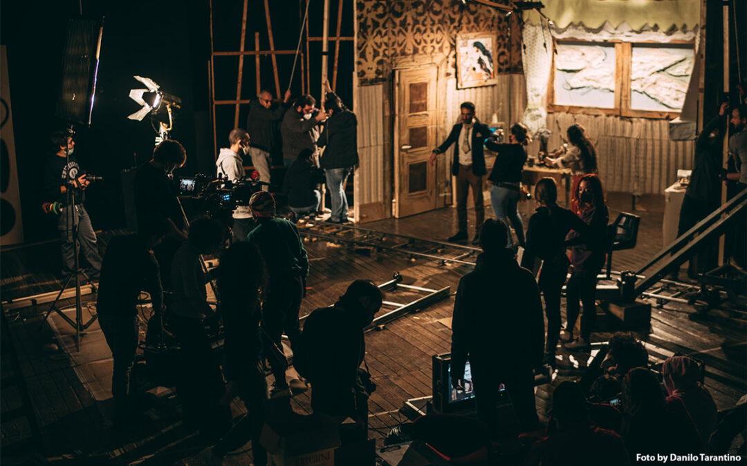 I nostri allievi sul set del videoclip LIBERTÀ del cantautore Peppe Lana