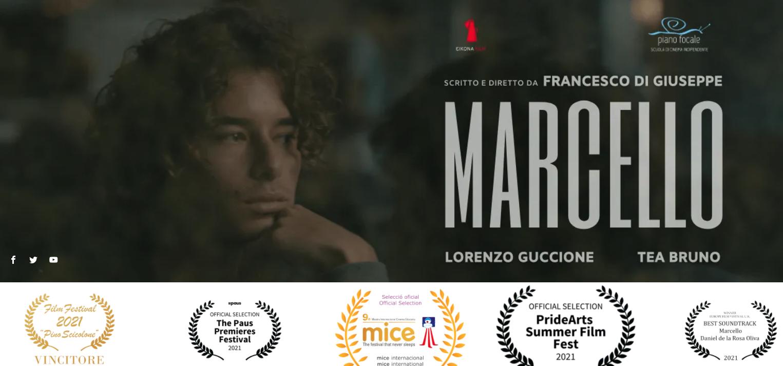 """""""MARCELLO"""" vince il Miglior CortoScuola al CineOFF Festival"""